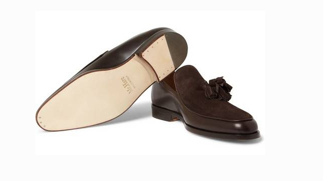 Leather + Suede = Razor Sharp Shoe The NMG Shoe Report